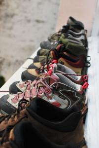 Valg av sko er avgjørende for at vandringen skal bli en god opplevelse.